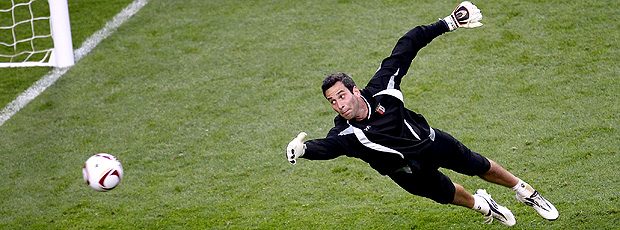 Artur goleiro Braga (Foto: Getty Images)