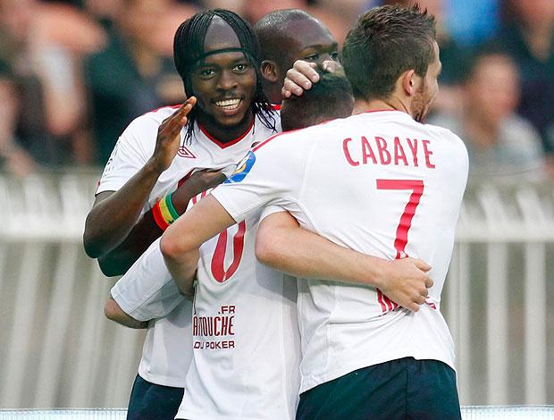 Ludovic Obraniak lille gol psg (Foto: agência Reuters)