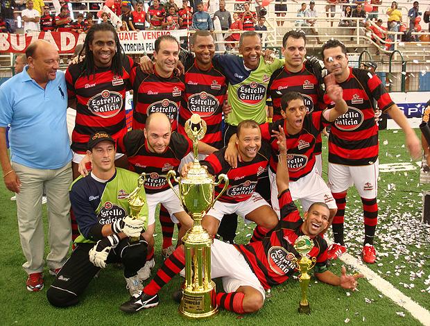 Flamengo bicampeão carioca de showbol (Foto: Flávio Diláscio / Globoesporte.com)