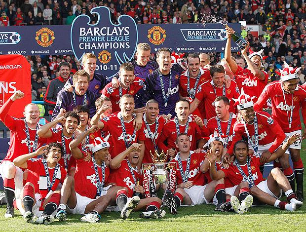 Manchester taça campeão (Foto: Reuters)