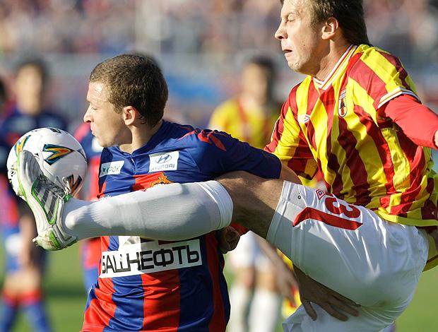 Milos Krasicfight CSKA Anton Grigoryev  Alania (Foto: AP)