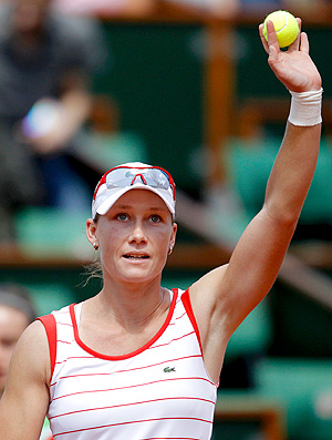 Samantha Stosur tênis Roland Garros 1r (Foto: Reuters)