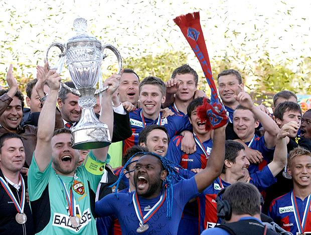 CSKA campeão (Foto: AP)
