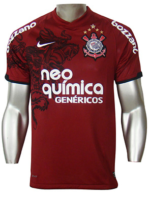 Nova camisa do Corinthians (Foto: Reprodução)