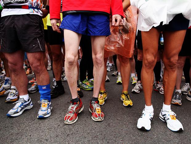 tênis maratonistas corrida de rua (Foto: Getty Images)