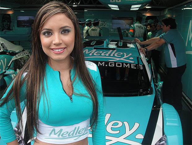 Gata da Stock: Daniela Sezarnowski ganhou em Nova Santa Rita (RS) (Foto: Rafael Honório/Globoesporte.com)