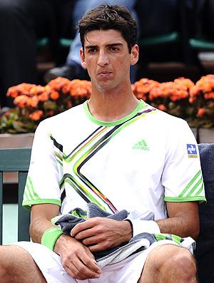Thomaz Bellucci tênis Roland Garros 3r (Foto: AFP)