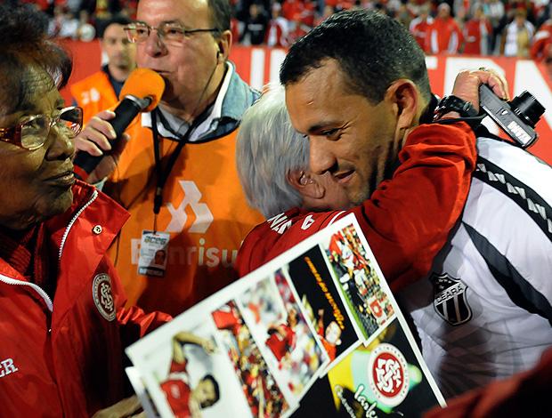 Iarley ceará gol internacional (Foto: Edu Andrade / Agência Estado)