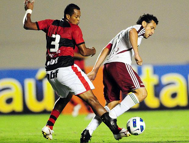 fred fluminense atlético-go (Foto: Cristiano Borges / Photocamera)