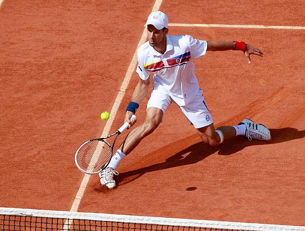 Novak DJokovic tênis Roland Garros oitavas (Foto: Reuters)