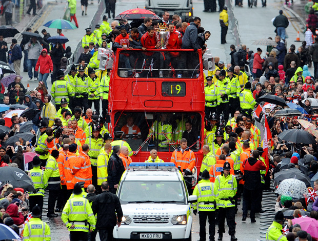 carreata manchester united (Foto: Getty Images)