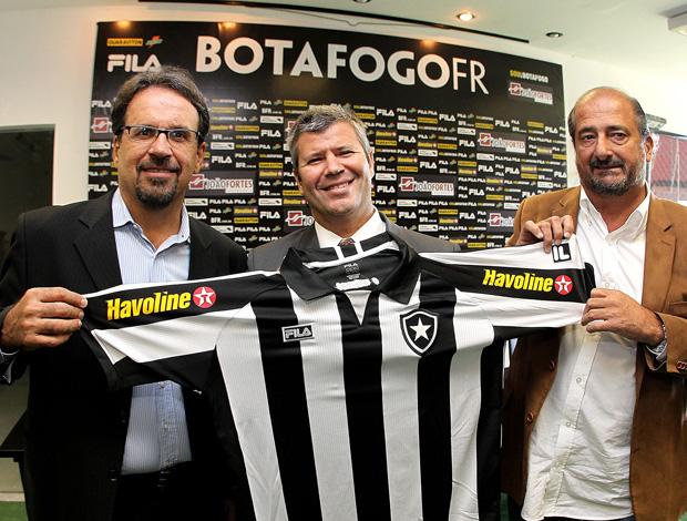 botafogo patrocinador (Foto: Satiro Sodré/Divulgação AGIF)