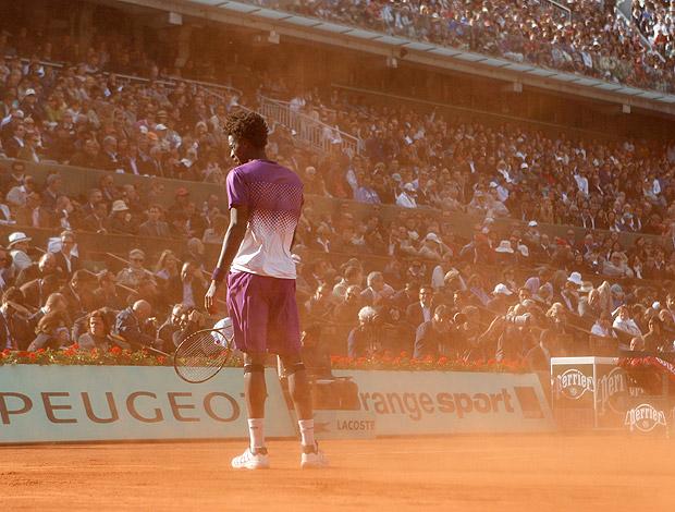 Gael Monfils tênis Roland Garros quartas (Foto: AP)