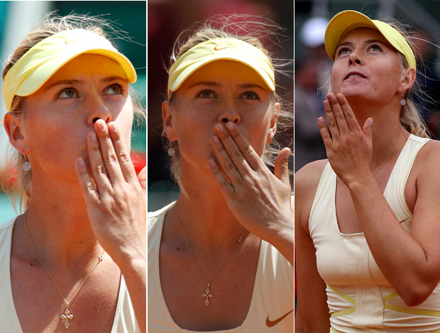 Maria Sharapova tênis Roland Garros (Foto: EFE)