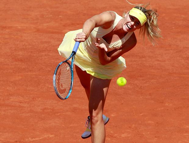 Maria Sharapova tênis Roland Garros (Foto: agência Reuters)