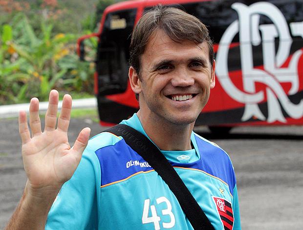 petkovic flamengo treino (Foto: Cezar Loureiro/Globo)