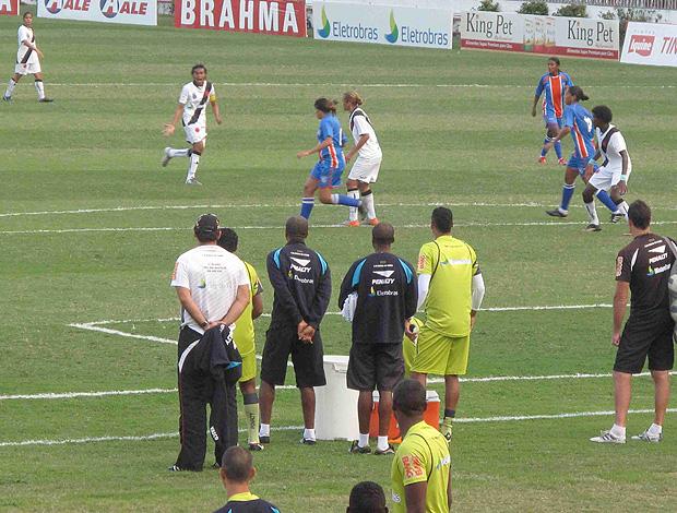 Ricardo Gomes final do Carioca de futebol feminino em São Januário (Foto: Rafael Cavalieri / Globoesporte.com)