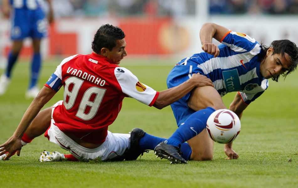 Vandinho, capitão do Braga. (Foto: AP)