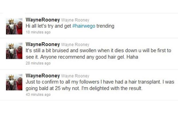 Rooney Twitter (Foto: Twitter)
