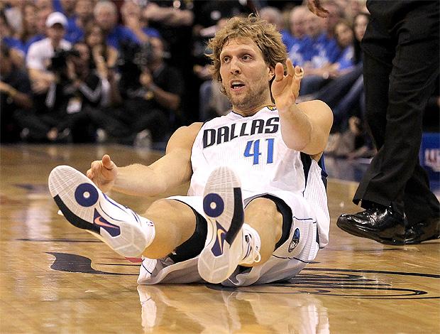 Dallas Mavericks x Miami  Heat    Dirk Nowitzki (Foto: Getty Images)