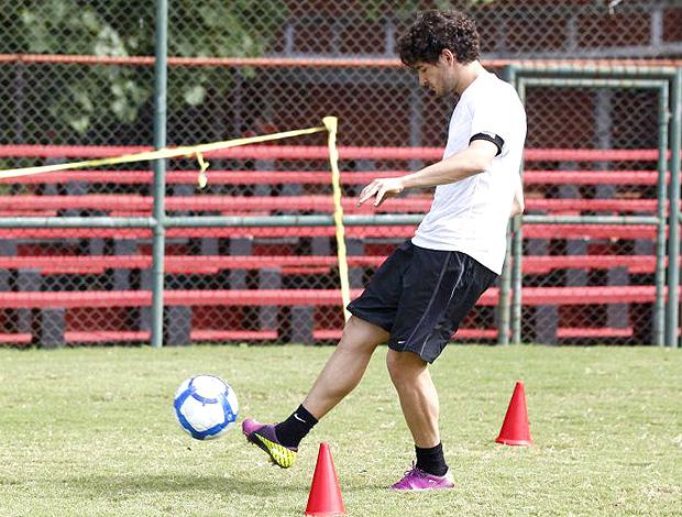 Pato treino Gávea Flamengo (Foto: Site Oficial do Flamengo)