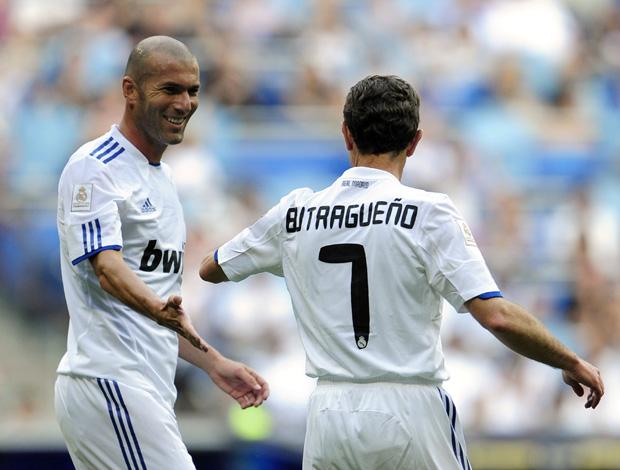 Real Madrid e Bayern zidane butragueno (Foto: AFP)