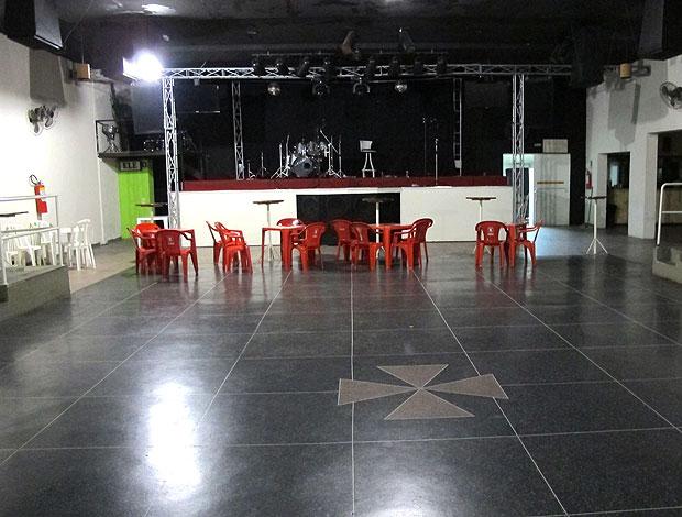 sede do Vasco-PR (Foto: Gustavo Rotstein / GLOBOESPORTE.COM)