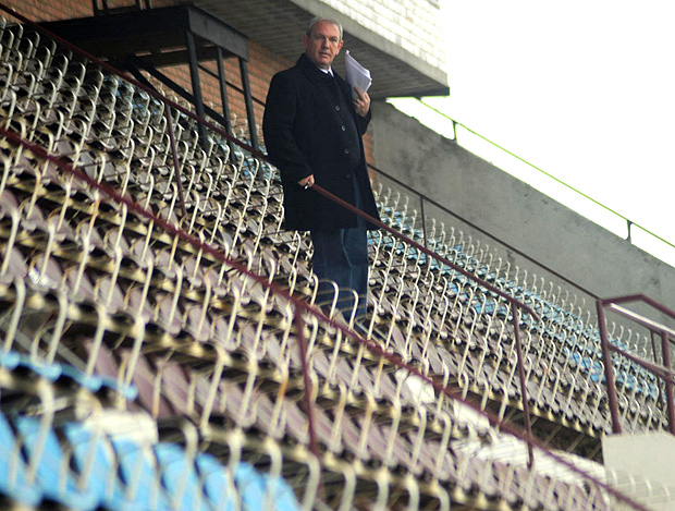 airton giachini Estádio Centenário passa por vistoria da FIFA (Foto: Divulgação / Rodrigo Fatturi)