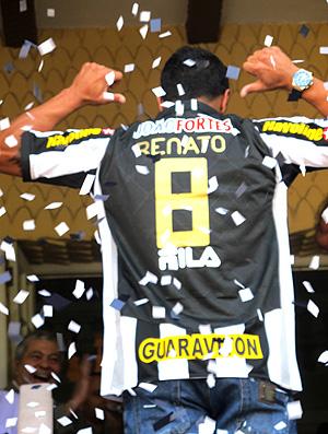 Renato apresentado no Botafogo (Foto: Thiago Fernandes / GLOBOESPORTE.COM)