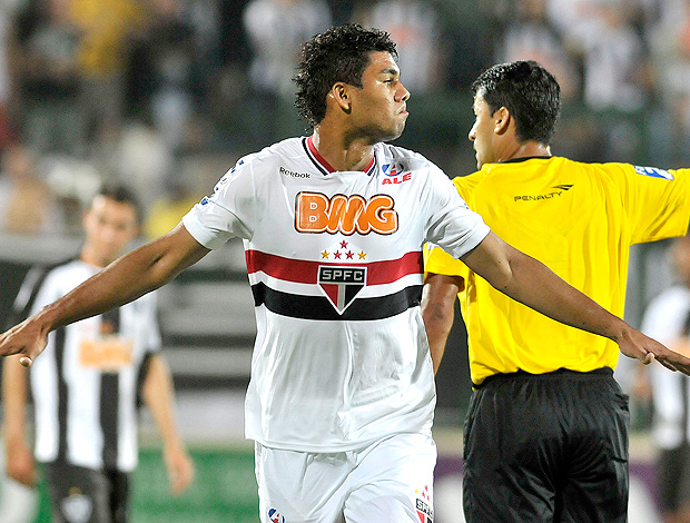 Casemiro gol São Paulo (Foto: Juliana Flister / VIPCOMM)