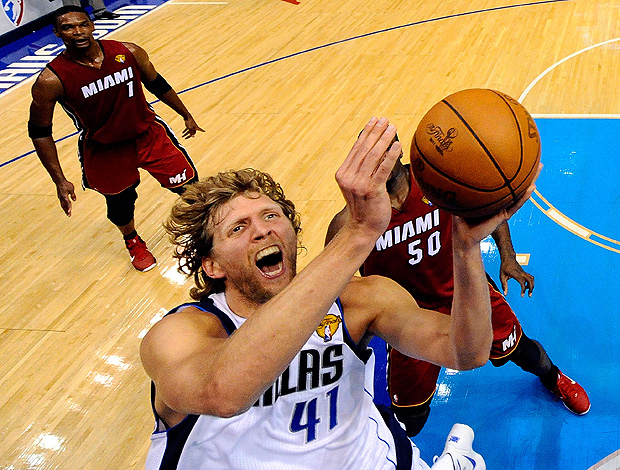 Dallas Mavericks x Miami  Heat    Dirk Nowitzki (Foto: Getty Images)