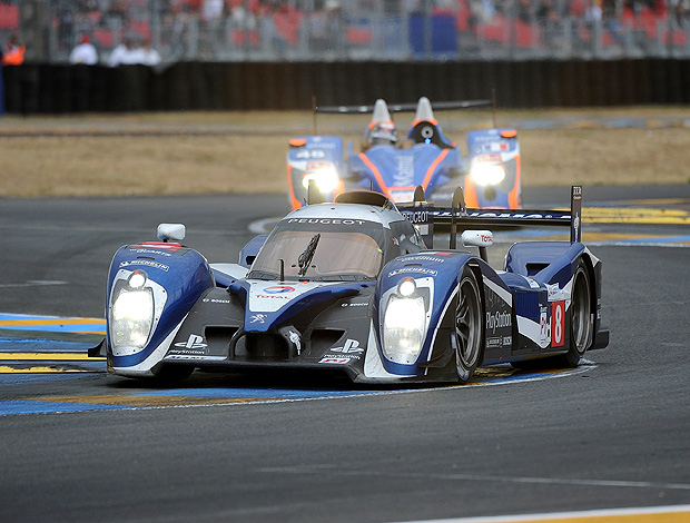 24 horas de Le Mans França Stephane Sarrazin Franck Montagny (Foto: Getty Images)