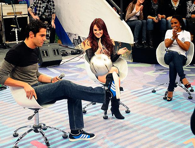 Kaká no programa Altas Horas (Foto: Marcos Ribolli / GLOBOESPORTE.COM)