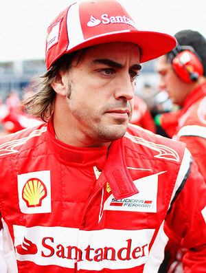 fernando alonso ferrari gp do canadá (Foto: agência Getty Images)