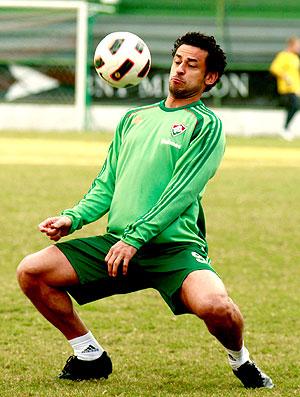 Fred no treino do Fluminense (Foto: Nelson Perez / Site Oficial do Fluminense)