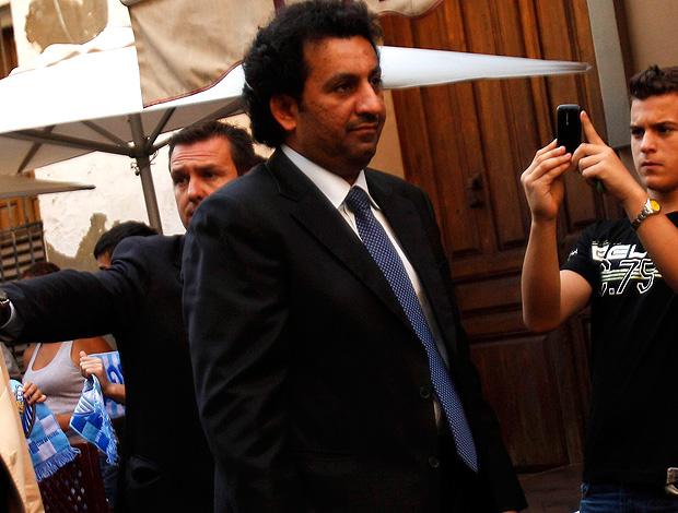 sheik Abdullah al Thani dono malaga (Foto: agência Reuters)