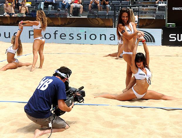 Dançarinas do Mundial de Roma (Foto: Divulgação / FIVB)