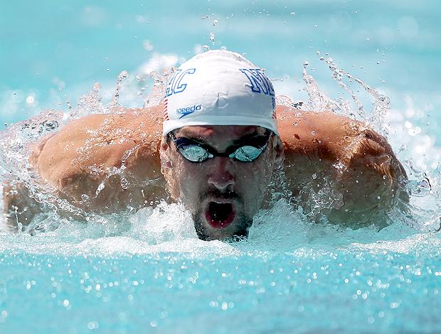 Michael Phelps natação Santa Clara (Foto: Getty Images)