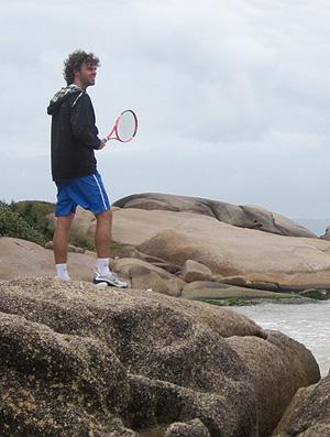 tênis Guga Gustavo Kuerten (Foto: Sidney Garambone)