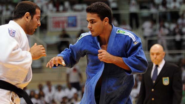 Leandro Guilheiro é medalha de ouro no Grand Slam do Rio