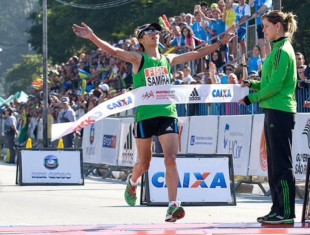 samira raif maratona são paulo (Foto: Mister Shadow / Agência Estado)