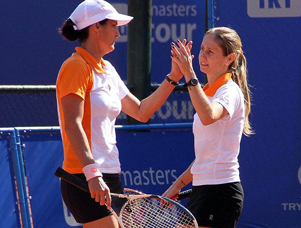Luciana Tella Dadá Vieira tênis Masters Tour (Foto: João Pires / Divulgação)