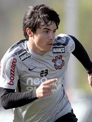 Willian treino Corinthians (Foto: Ag. Estado)