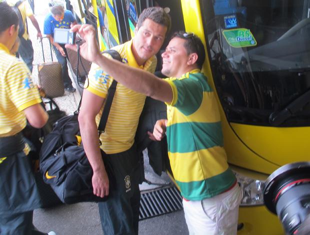 julio cesar seleção brasileira (Foto: Janir Junior/Globoesporte.com)