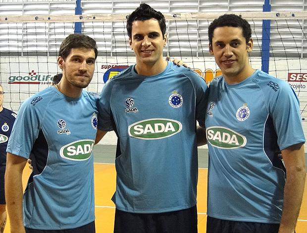 Cruzeiro inicia treinamentos para a disputa da Superliga 2011 2012 ... 5fa3147838b50