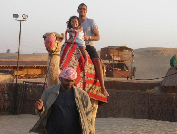leo lima emirados árabes (Foto: Arquivo Pessoal)