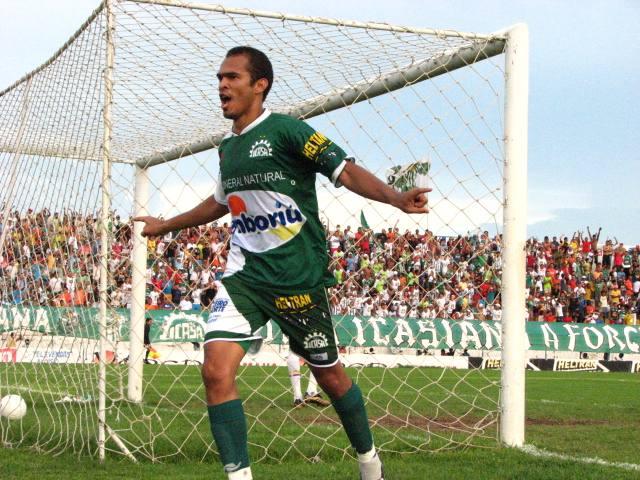 Marciano atacante do Icasa (Foto: Divulgação)
