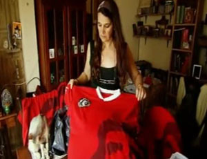Mónica Nielse presidente do clube Che Guevara (Foto: divulgação)
