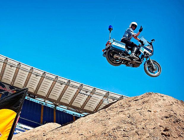 motocross estilo livre em Roma (Foto: Divulgação)