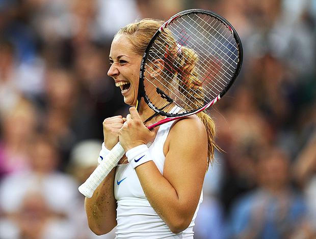 Alemã salva dois match points e derruba Na Li em Wimbledon